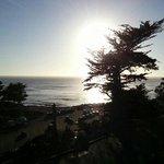 Solen på vej i havet!