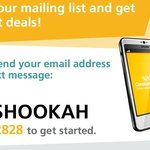 join our mailing list and get all offers and promotions