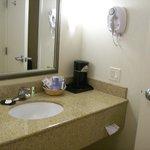 Bathroom Counter in Room