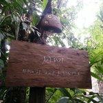 Jawi House entrance