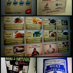 Posters & notices around the hostel..