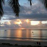 Sunrise over the Indian ocean