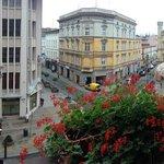 Balcony view panorama
