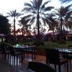 Outside terrace - Musandam