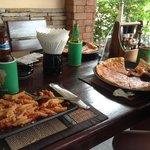 uma pizza honesta e uma massa boa