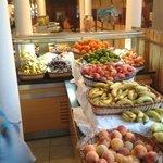 fruit section in restaurant