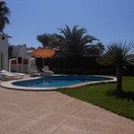 Villa Sigfrid pool view