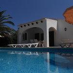 Villa Sigfrid low level pool view