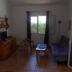 Villa Sigfrid lounge area
