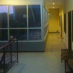 view of 3rd floor corridor