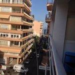 vista dal balcone della nostra camera2