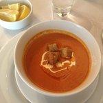 zuppa di pomodoro...eccellente!