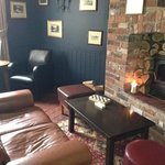 the Snug- cosy area- cant wait for the fire to be roaring :)