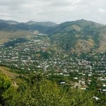 Shot of north end of Goris where Yeghevnut is located
