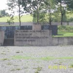 Memorial stone, parade ground