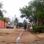 The street towards the ghetto