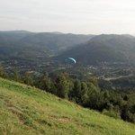 Aussicht vom Berg