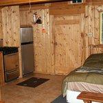 Cabin #10 Love Shack Interior