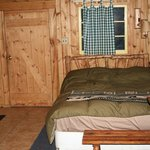 Cabin #10 Love Shack Bed