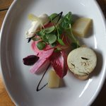 Goat's cheese starter