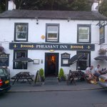 The front of the Pheasant Inn