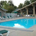 Pool and rooms