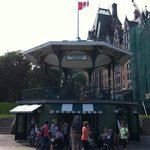 Kiosque de la Terrasse Dufferin (en face)