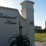 The entrance to the Richmond House estate