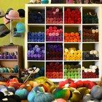 A wall of Yarn