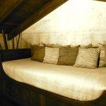 Loft area in master suite