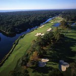 Aerial view of George Fazio holes #15 and #16