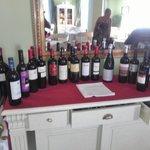 Dit stelt hun wijnkaart voor in Villa de Alarcon