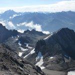Blick von der Galuga Spitze