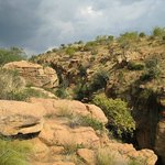 One of the deep river gorges or kloofs