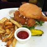 Cod Fish Sandwich