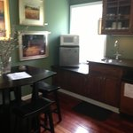 Kitchen area of Carriage House