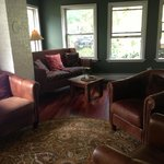 Living room area of Carriage House