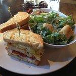 Triple Decker Sandwich, Side Caesar Salad
