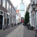 View to St. Peterskerk - street level
