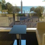 View from lounge Hotel Hispania Mallorca Arenal