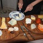 il favoloso vassoio di formaggi