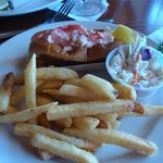 Delicious Lobster Roll Plate
