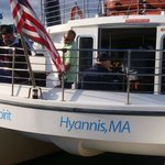 Our day cruise aboard the Bay Spirit out of Hyannis!