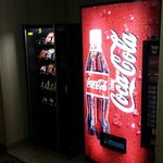 Vending machines on second floor