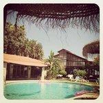 piscine de l hôtel