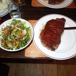 My steak & salad