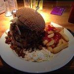 My huge burger