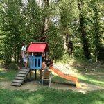 Parque infantil del balneario