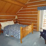 one of the lodge bedrooms