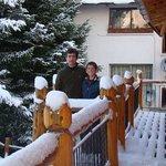Dia de nieve en Posada Aurelio